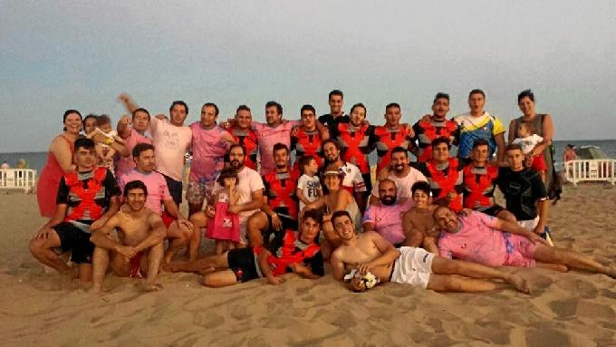 Era el primer torneo de playa para los jugadores del Unión.