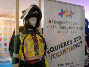 Juegos Europeos Policías y Bomberos Huelva 2016.