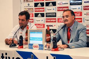 Antonio Martín junto a Benjamín Naranjo en rueda de prensa