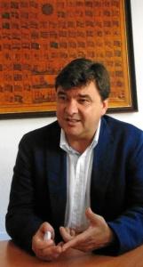 El alcalde de Huelva, Gabriel Cruz. / Foto: Leticia Camacho.