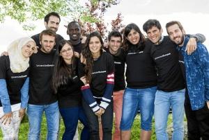 Premiados de la VII edición de los Premios Jóvenes Emprendedores Social, de la Universidad Europea.