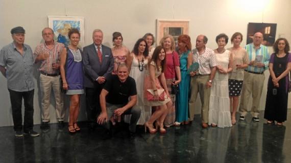 Un total de 20 artistas homenajea a Enrique Montenegro en una exposición colectiva