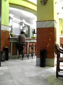 Trigueros. Bar del Casino. / Foto de Azoteas.