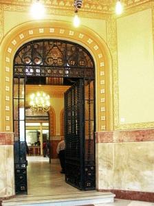 Trigueros. Zaguán del Casino. / Foto de Azoteas.