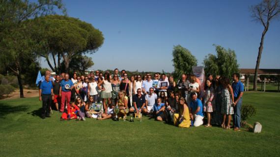 Casi un centenar de personas participan en el I Torneo de Golf Ángel Muriel