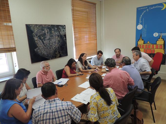 Reunión del Consejo Escolar Municipal.