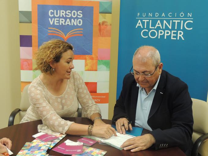 Yolanda Pelayo y Antonio de la Vega.