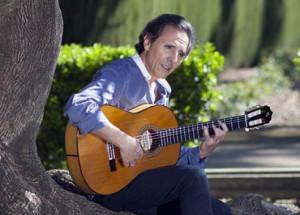 Juan Carlos Romero presenta su disco 'Paseo de los cipreses'.
