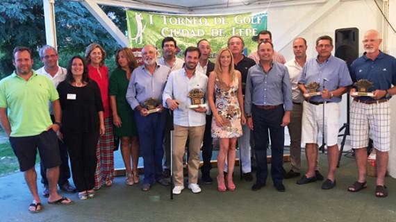 Lepe celebra la primera edición de su torneo de golf