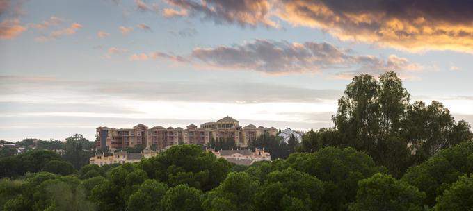 El Hotel AMA se encuentra en Islantilla.