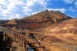 La minería es una de las actividades industriales que más patrimonio ha dejado en Huelva. / Foto: andalucia.org
