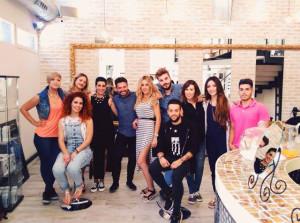 El equipo del salón Patrizia Robel.