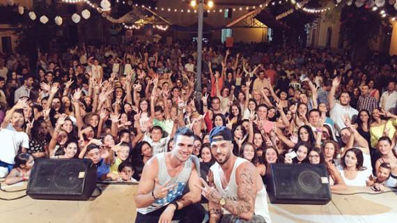 El concierto de Rasel anima las noches de verano en Trigueros