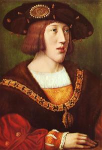 Retrato de un joven Carlos I.