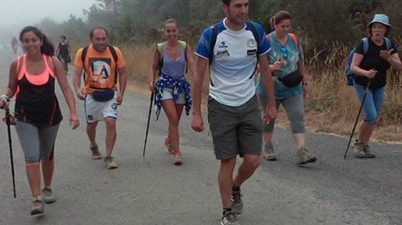 Excursionistas sanjuaneros culminan el 26 de julio el Camino de Santiago