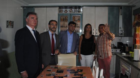 Las obras de rehabilitación de 40 viviendas en El Torrejón se reactivan