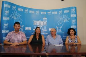 El Ayuntamiento de Valverde colabora con las Hermanitas de la Cruz.