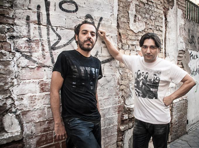 Mon Domínguez y Manuel Vargas, integrantes de Visión Sonora.