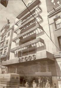 Arcos estaba enclavado en La Placeta. / Imagen cedida por Diego Lopa.