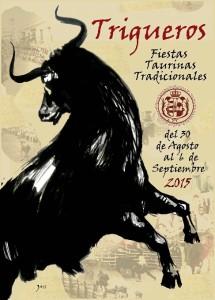 Cartel de las Fiestas Taurinas Tradicionales.