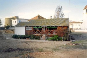 Casa del Guarda de Punta Umbría. / Foto cedida por Pablo Fernández.