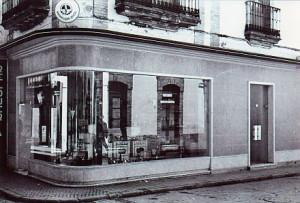 Bodega 'La Mancha', ahora Joyería Joaquín. / Imagen cedida por Diego Lopa.