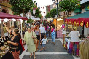 Se abre el mercado medieval en San Juan del Puerto.