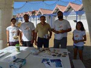 Algunos de los participantes en la actividad.