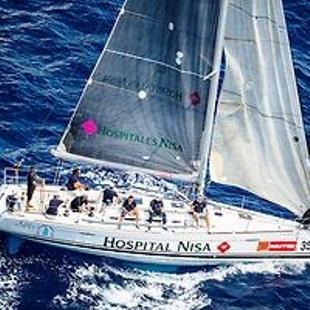 El Al Kevir-Hospitales Nisa alcanza la 9º posición en la segunda manga de la jornada de la Copa del Rey de vela