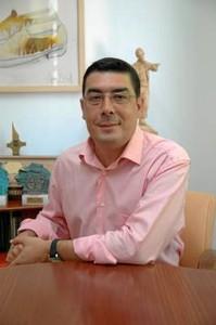 Alcalde de San Bartolomé de la Torre, Manuel Domínguez.