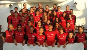 Participantes en el III Campus EBHuelva Siente Huelva 2015.