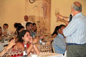 Posibilidad de conocer el vino del Condado de Huelva.