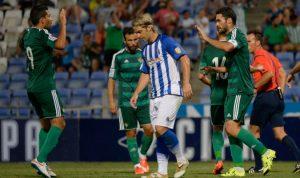 Edu Moya firma por una temporada con opción a una segunda. / Foto: www.recreativohuelva.com.