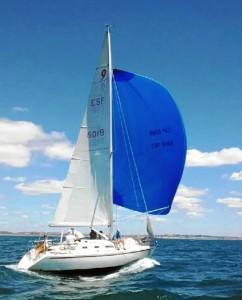 El Carma vencedor absoluto de la regata / Foto: J.Quiles
