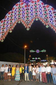 En la noche de este miércoles se inauguraron los festejos con el encendido del alumbrado.