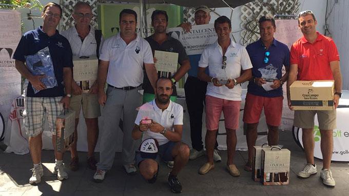Romero, Bustos y Pulido, los triunfadores en la novena prueba del Circuito Atlántico de golf en El Rompido