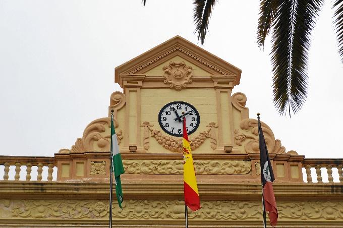 Reloj del Ayuntamiento de Ayamonte.