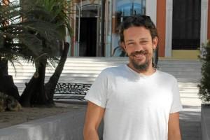 El actor onubense reside actualmente en Madrid./ Foto: Rosa Mora.
