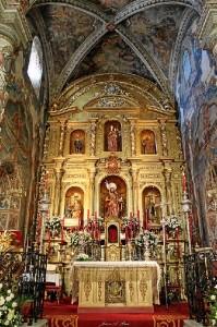 Uno de los monumentos que se incluye en la visita es la Iglesia Parroquial.