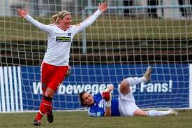 La alemana Imke Wübbenhorst puede jugar de central y en el centro del campo. / Foto: www.framba.de.