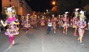 Una imagen del desfile.