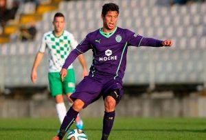 Kikas, nuevo jugador del Recreativo de Huelva. / Foto: www.recreativohuelva.com.