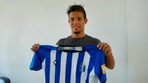 El portugués Kikas, con ganas de aportar su fútbol al Recre. / Foto: www.recreativohuelva.com.