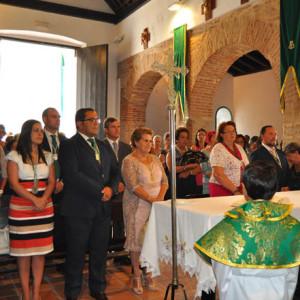Misa en honor a la Virgen de la Esperanza.