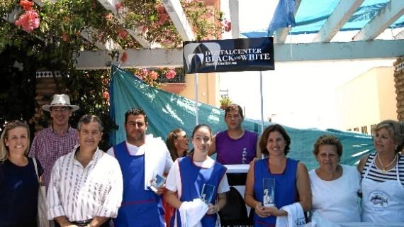 El tartar de langostinos de Manuela García se alza con el primer premio del XI concurso de degustación de cocina marinera de Isla Cristina