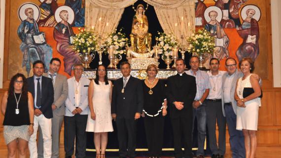 La isleña Ana Casado pregona a la Virgen del Mar