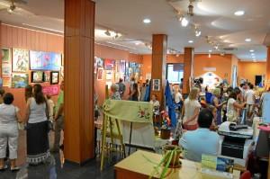 Las exposiciones se encuentran en el Centro Sociocultural