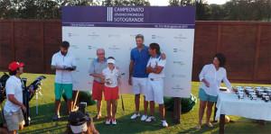 Laura López, segunda en su categoría en el torneo disputado en La Cañada Golf (Cádiz).