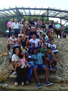 Un total de 140 niños se encuentran en la provincia disfrutando del programa 'Vacaciones en Paz'.