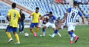 Ale Zambrano espera sacar los tres puntos el domingo en La Línea. / Foto: Josele Ruiz.